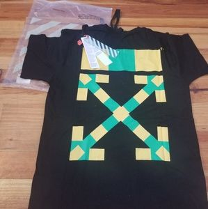 Off-white South Africa Green/yellow Tee
